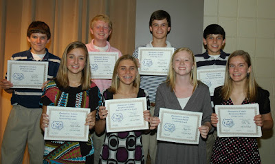Students Honored at Middle School Fall Sports Banquet 1