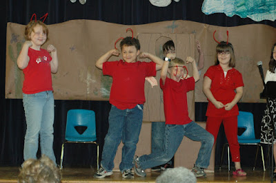 """St. Bede Second Graders Find Out Who is """"The Strongest One"""" 1"""