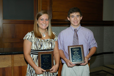 Williamson, Esmont Receive Knights of the Round Table Award 1