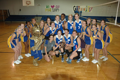 Catholic Wins Class 4A, Area 4 Volleyball Tournament 1