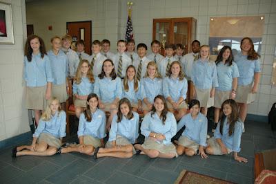 30 Montgomery Catholic Students Qualify for Duke 7th Grade Talent Search Program 1