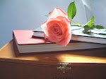 Roses and books...my idea of heaven!