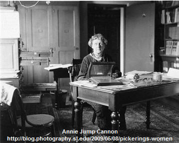 Annie Jump Cannon via Smithsonian Archives