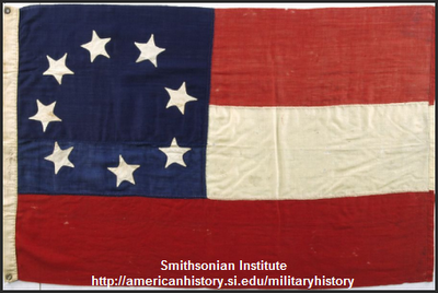 First Confederate Flag 1861
