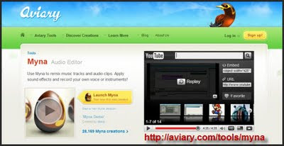 Create Video Notebook Myna Audio Editor Online Editing Audio For