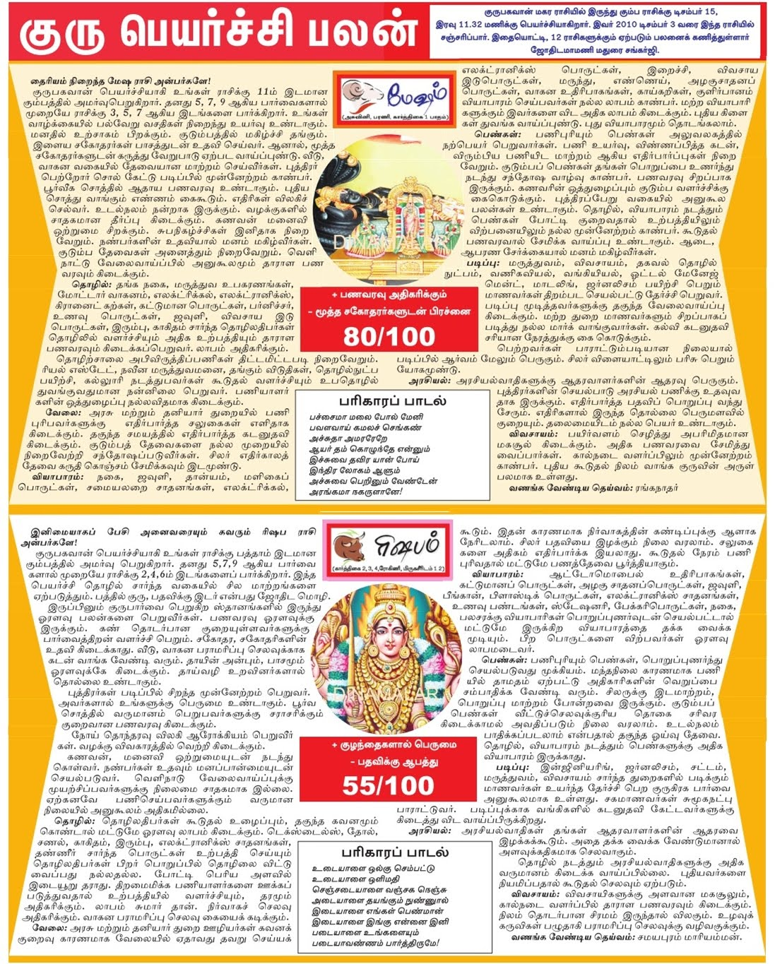 ... out your Raasi, Nakshatram, Pada (Quarter). BIRTH STAR TEMPLE LIST