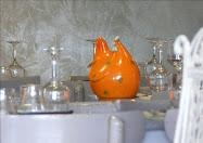 Poule mandarine