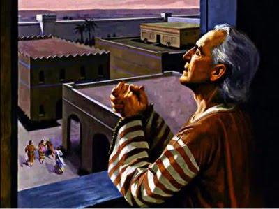 La fuerza de Daniel una vida de continua oración y acción.