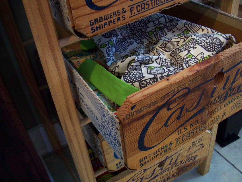 Trinknitty home improvement is back on the agenda for Wine crate furniture