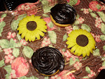 Fondant Sunflowers for Theresa