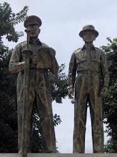 MacArthur and Osmena