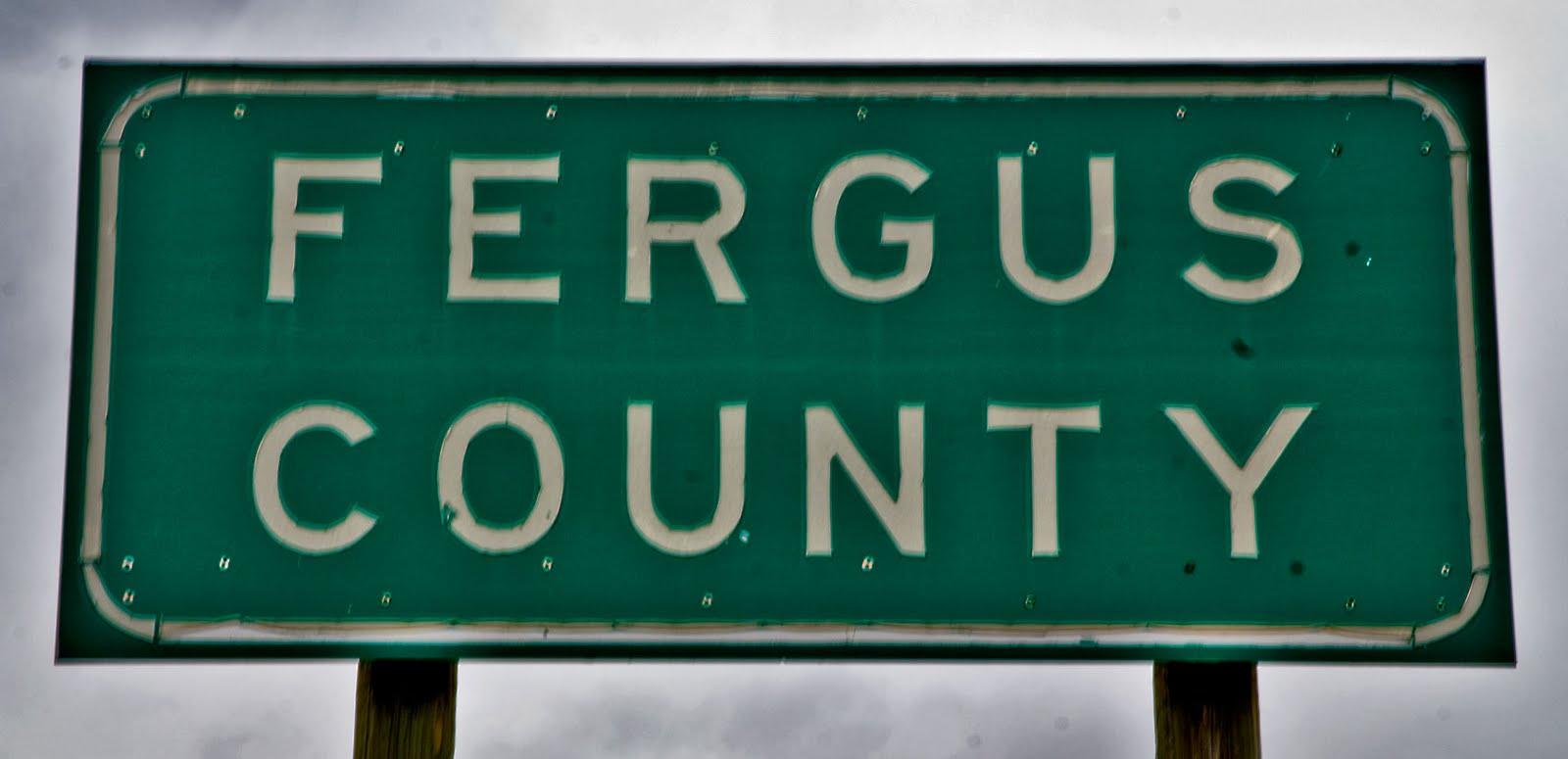 Fergus County was formedfergus county