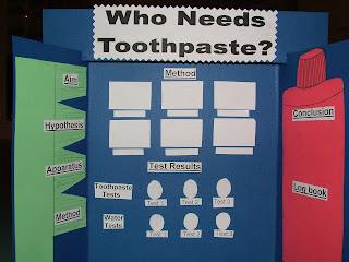 science fair materials flipside science fair project boards titles ...
