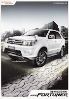 Harga Toyota Fortuner