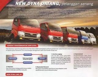 Harga Toyota Dyna Baru 2010