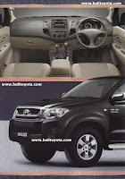 Toyota Hilux Brosur