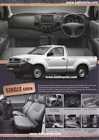 Brosur Toyota Hilux 2012