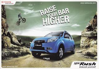 Harga Toyota New Rush G Matic