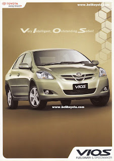 Brosur Toyota Vios