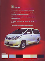 Brosur Toyota New Alphard