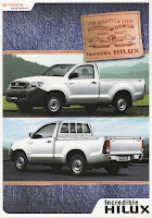 Brosur Toyota New Hilux