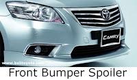 aksesoris camry: Front Bumper Spoiler