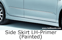aksesoris camry: Side Skirt LH-Primer (Painted)