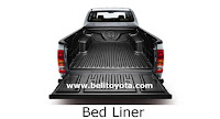 toyota hilux: bed liner