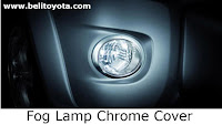 toyota hilux: fog lamp chrome cover