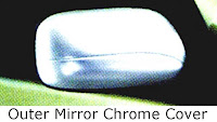 toyota avanza: outer, mirror, chrome, cover