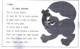 leitura18 LEITURAS SIMPLES para crianças