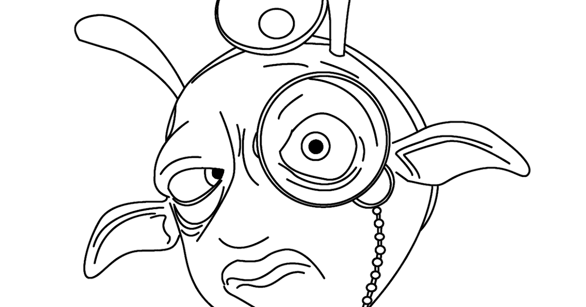 planet 51 coloring pages free - photo#21