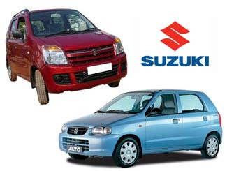 Maruti WagonR and Maruti Alto