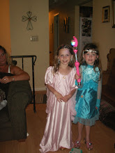 Gracie and Brianna all dressed up!