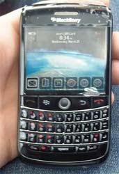 blackberry bolt 2 Onyx