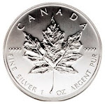 Silver Maple Leaf 1oz