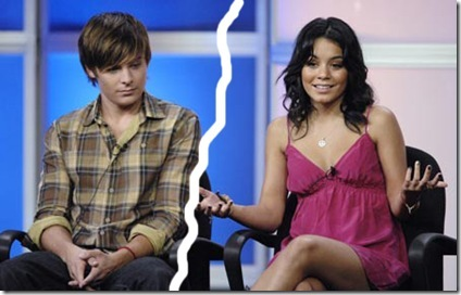 Vanessa Hudgens and Zac Efron, No More.