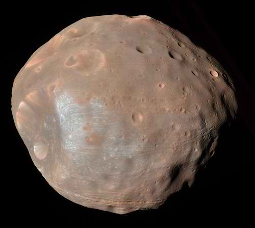 the mars moons color - photo #13