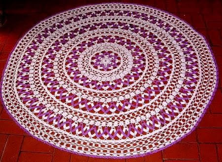 mandala violeta