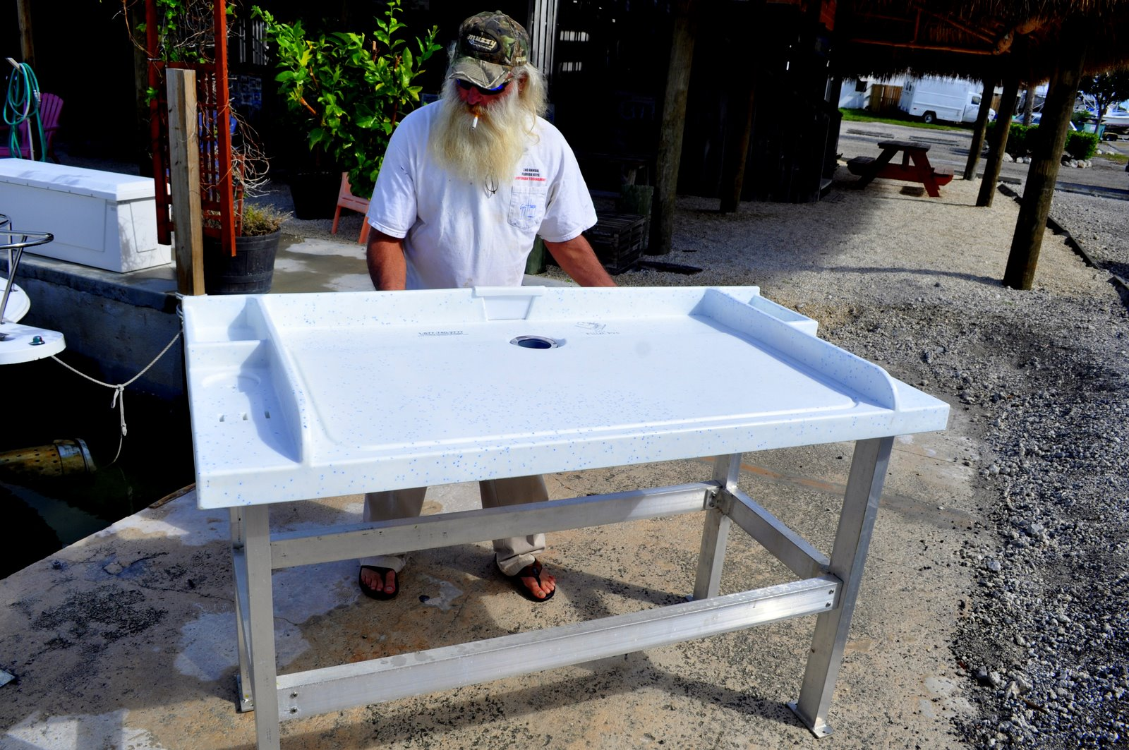 Fillet pro fish cleaning table discount page fillet pro for Homemade fish cleaning table