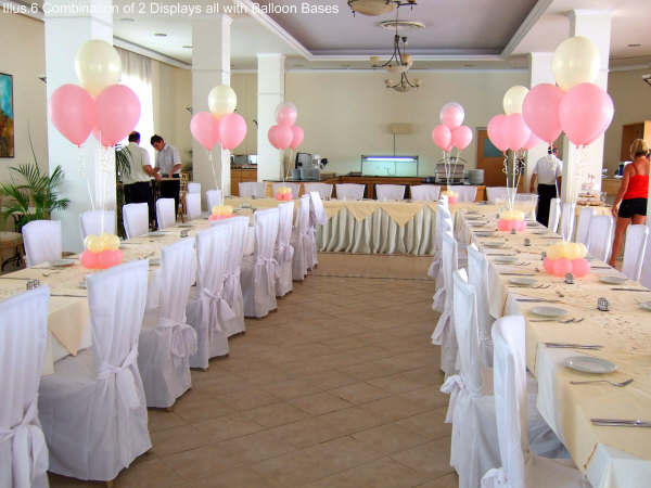 Decorating weddings with balloons