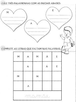 poemas para san valentin_09. ATIVIDADES PARA O DIA DAS MÃES