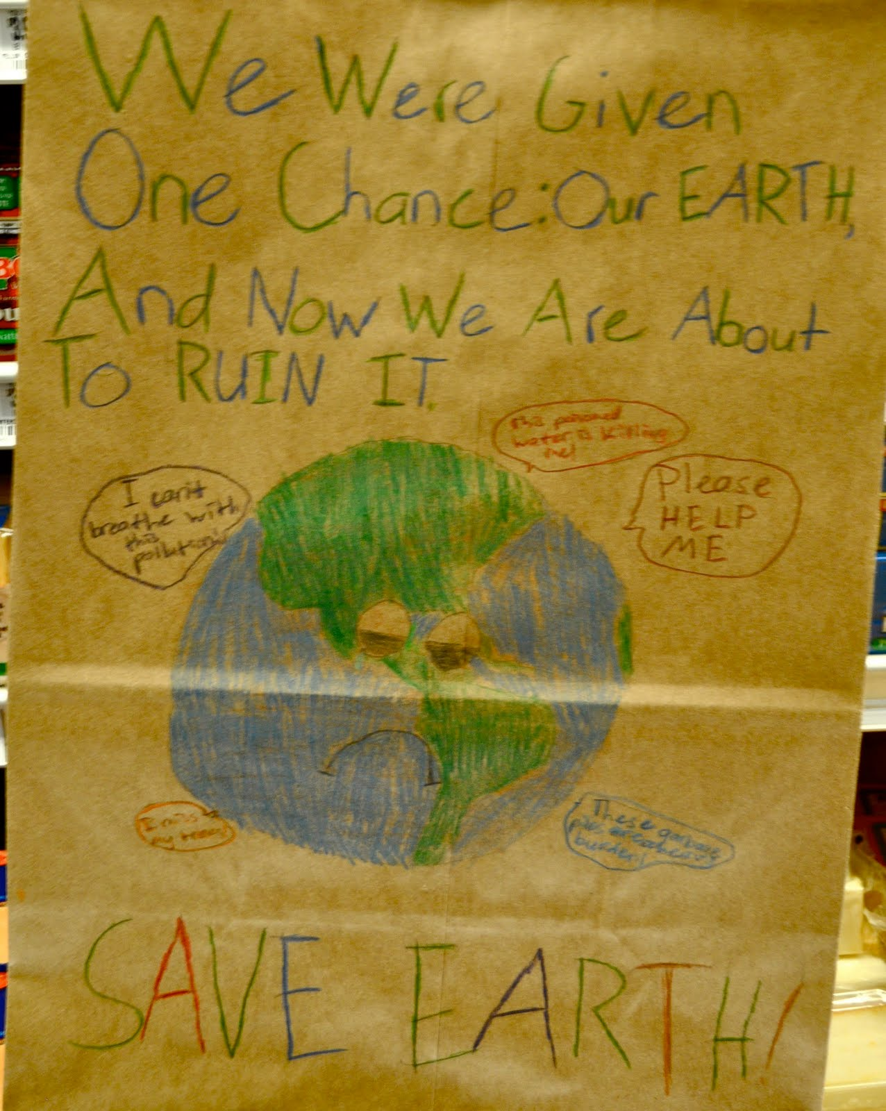 essay on earth day for class 6th