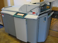 Photograph of the new photocopier