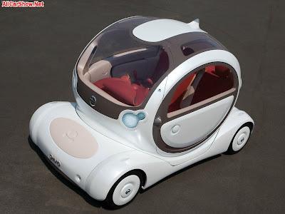 2002 Nissan Yanya Concept. 2005 Nissan Pivo Concept