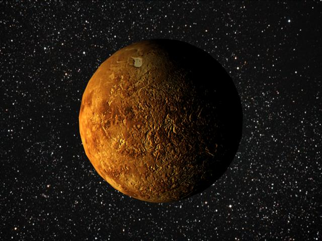 Animated Venus Planet