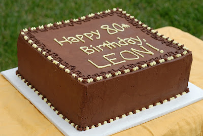 Birthday Cake Images Square : Night Baking: leon s birthday cake