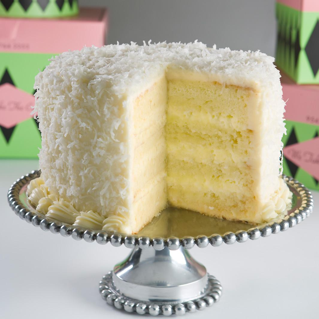 Lemon Coconut Cake Cream Cheese Frosting