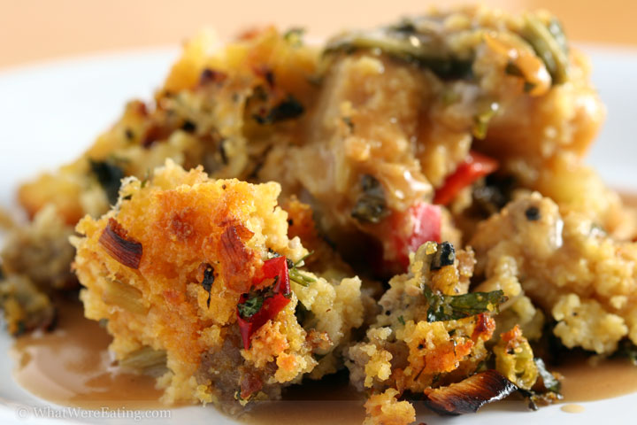 The Thrillbilly Gourmet: Sausage and Cornbread Dressing