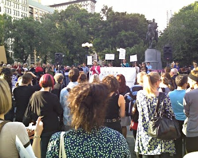 crowd shot from second vigil